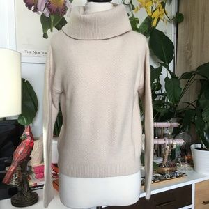 Bohme Cream Turtleneck Sweater S